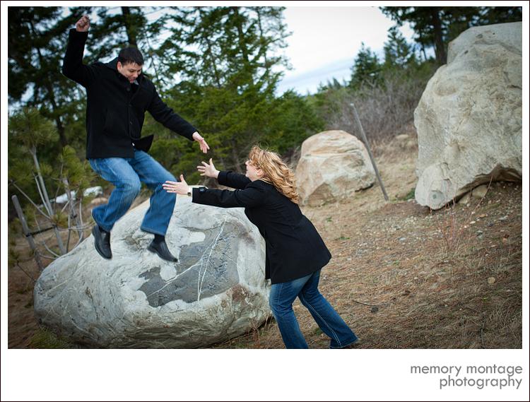 yakima ellensburg cle elum engagement photo