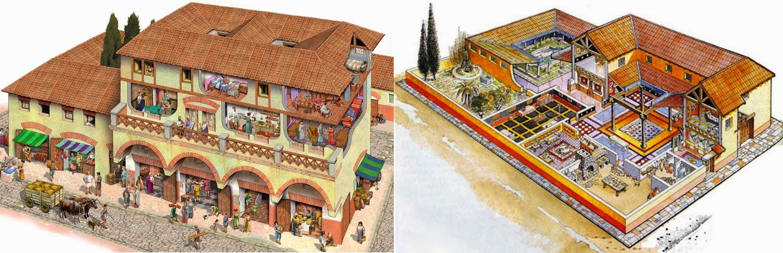Tic en la casa de la fortuna carthago nova en la red la - La casa romana ...
