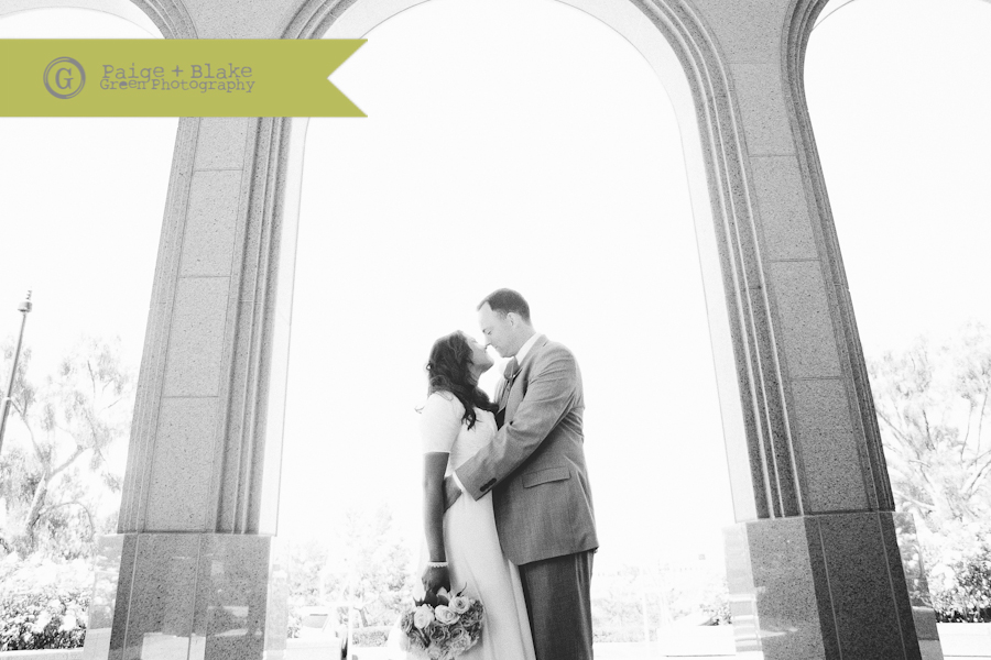 Newport Beach LDS Temple Romantics  : Photo by Paige and Blake Green