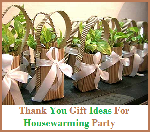 Best Gift Ideas Housewarming Favors