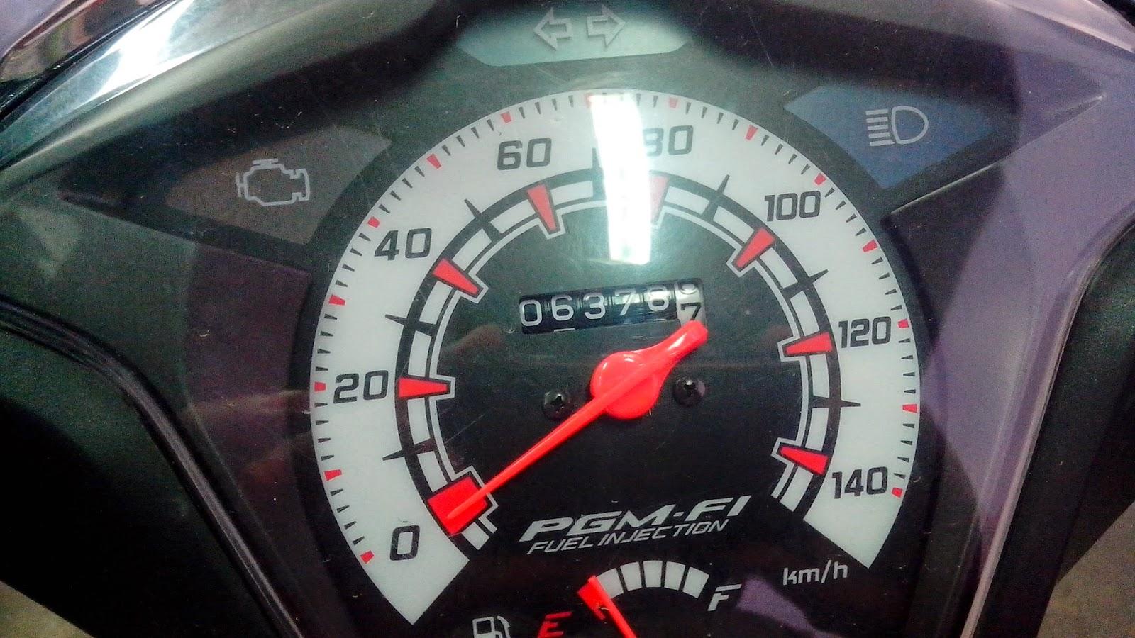 Tes konsumsi BBM Honda Beat FI