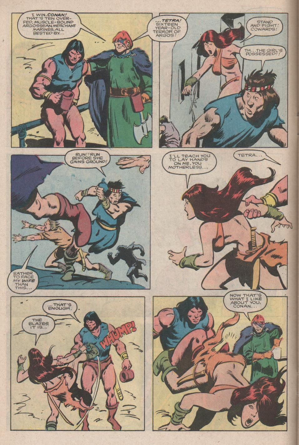 Conan the Barbarian (1970) Issue #176 #188 - English 5
