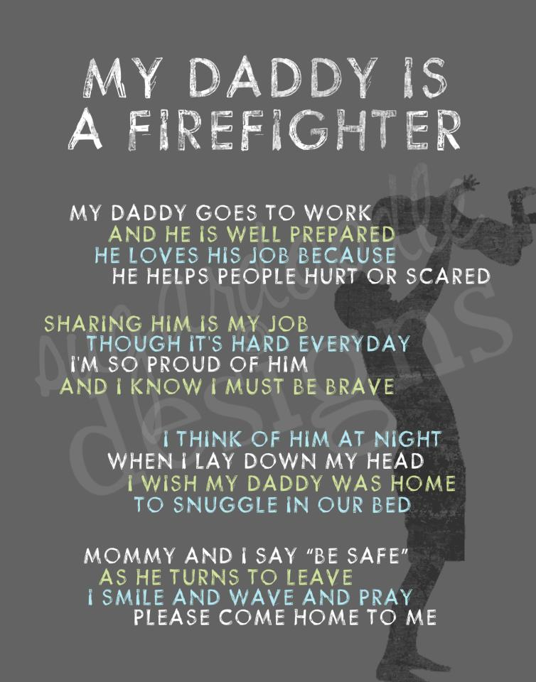 Seeking Radiance: My Daddy is a Firefighter