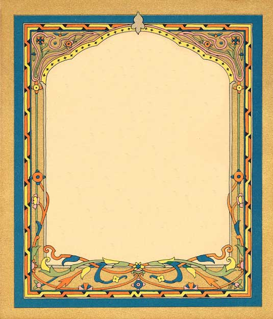 Leaping Frog Designs: Beautiful Frames Free Vintage Images From ...