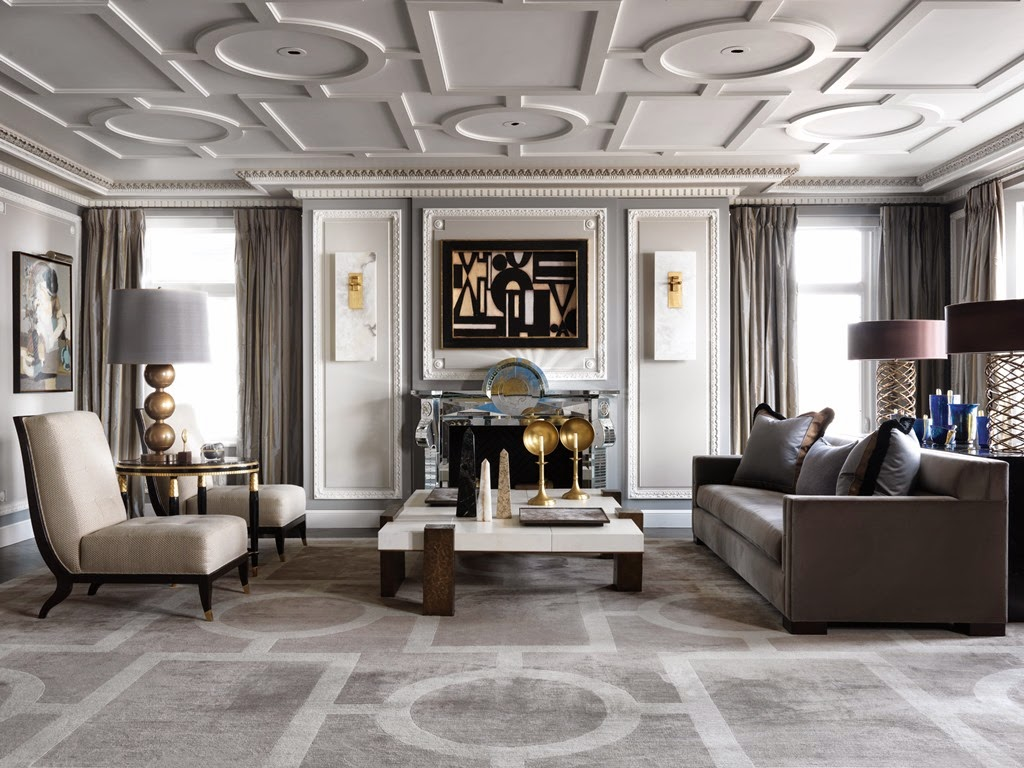 The peak of chic jean louis deniot interiors for French ceiling design