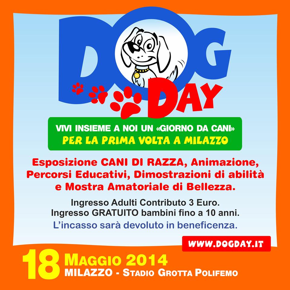 """PRIMA EDIZIONE DEL """"DOG DAY"""" A MILAZZO"""