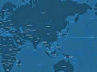 Peta Interaktif Pertumbuhan Kabel Bawah Laut di Dunia