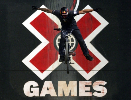 BMX event at X Games