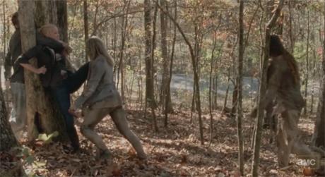 Andrea en The Walking Dead 3x14 - Prey