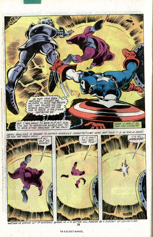Captain America (1968) Issue #256 #171 - English 30