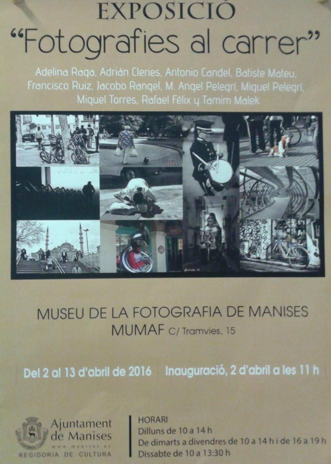 02.04.16 MUMAF, MUSEU DE LA FOTOGRAFÍA CARLOS SANCHIS GARCÍA, EXPOSICIÓN.