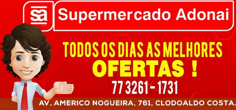 SUPERMERCADO ADONAI -  AV. AMÉRICO NOGUEIRA, CLODOALDO
