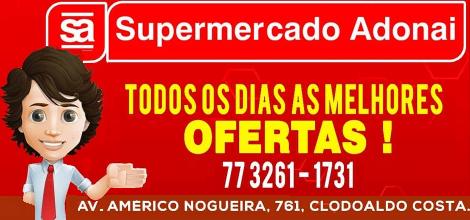 SUPERMERCADO ADONAI -  AV. AMÉRICO NOGUEIRA, CLODOALDO