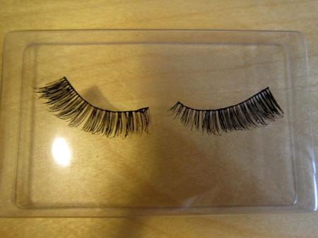 how to take care of false lashes