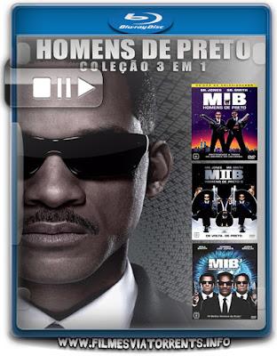 Trilogia MIB: Homens de Preto Torrent