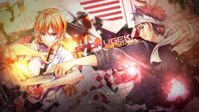 Dikonfirmasi Anime 'Shokugeki no Souma' Akan Dapatkan Musim Kedua