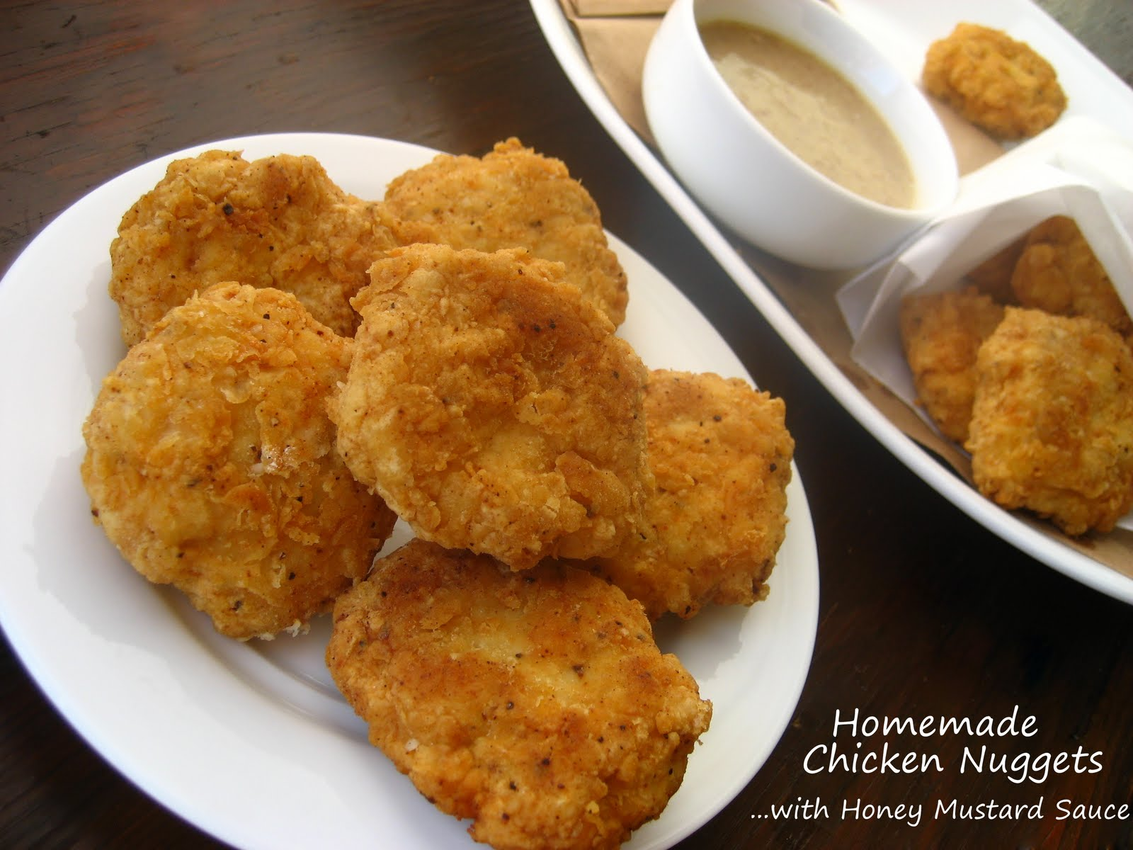 Home Cooking In Montana: Homemade Chicken Nuggets...with Honey Mustard ...
