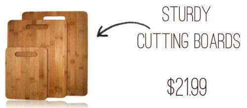 Sturdy Cutting Boards