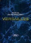 MANUAL DO FORD VERSAILLES