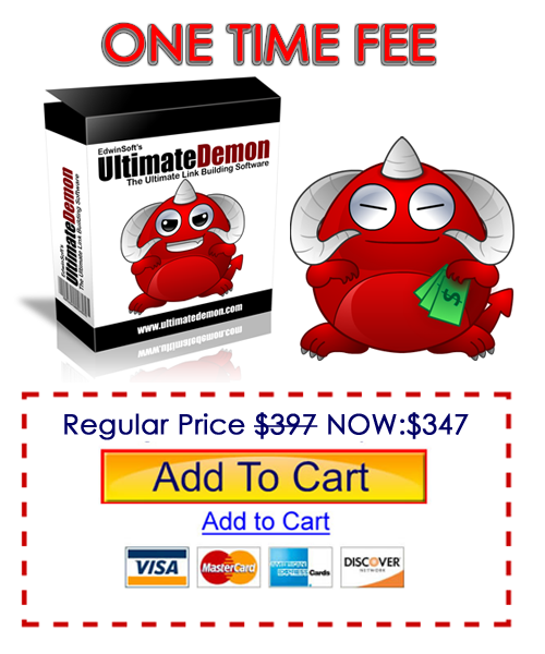 Ultimate Demon Link Building Software One Time Fee Discount