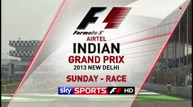 Carrera Gran Premio de India Formula 1 Octubre 27 HD 2013