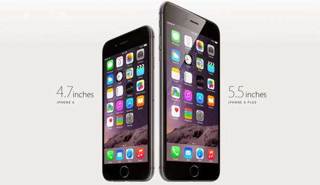 iPhone 6 and iPhone 6 Plus comparison