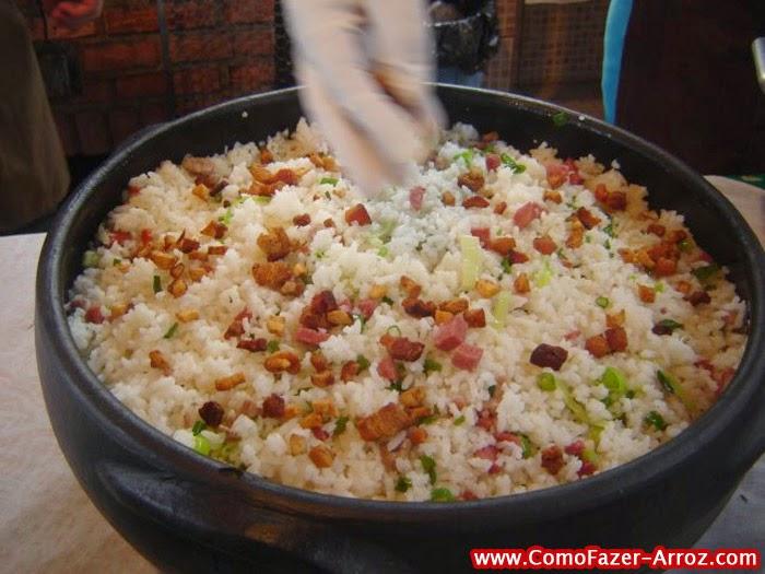 Arroz carreteiro - Como fazer arroz