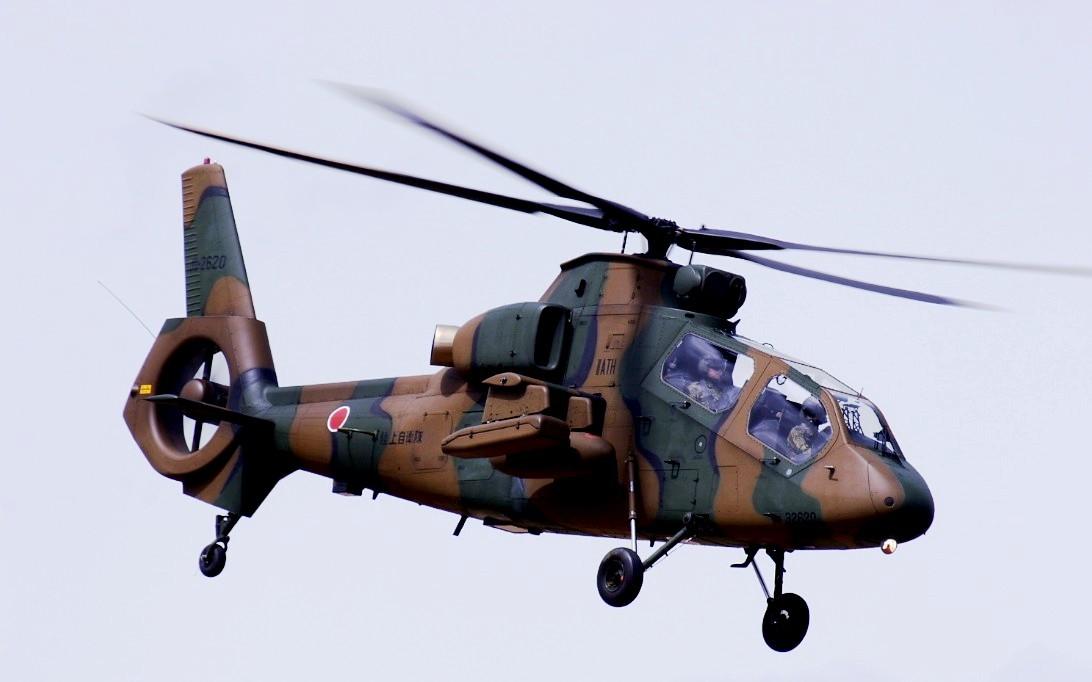 Kawasaki OH-1 Ninja Helicopter Wallpaper 1