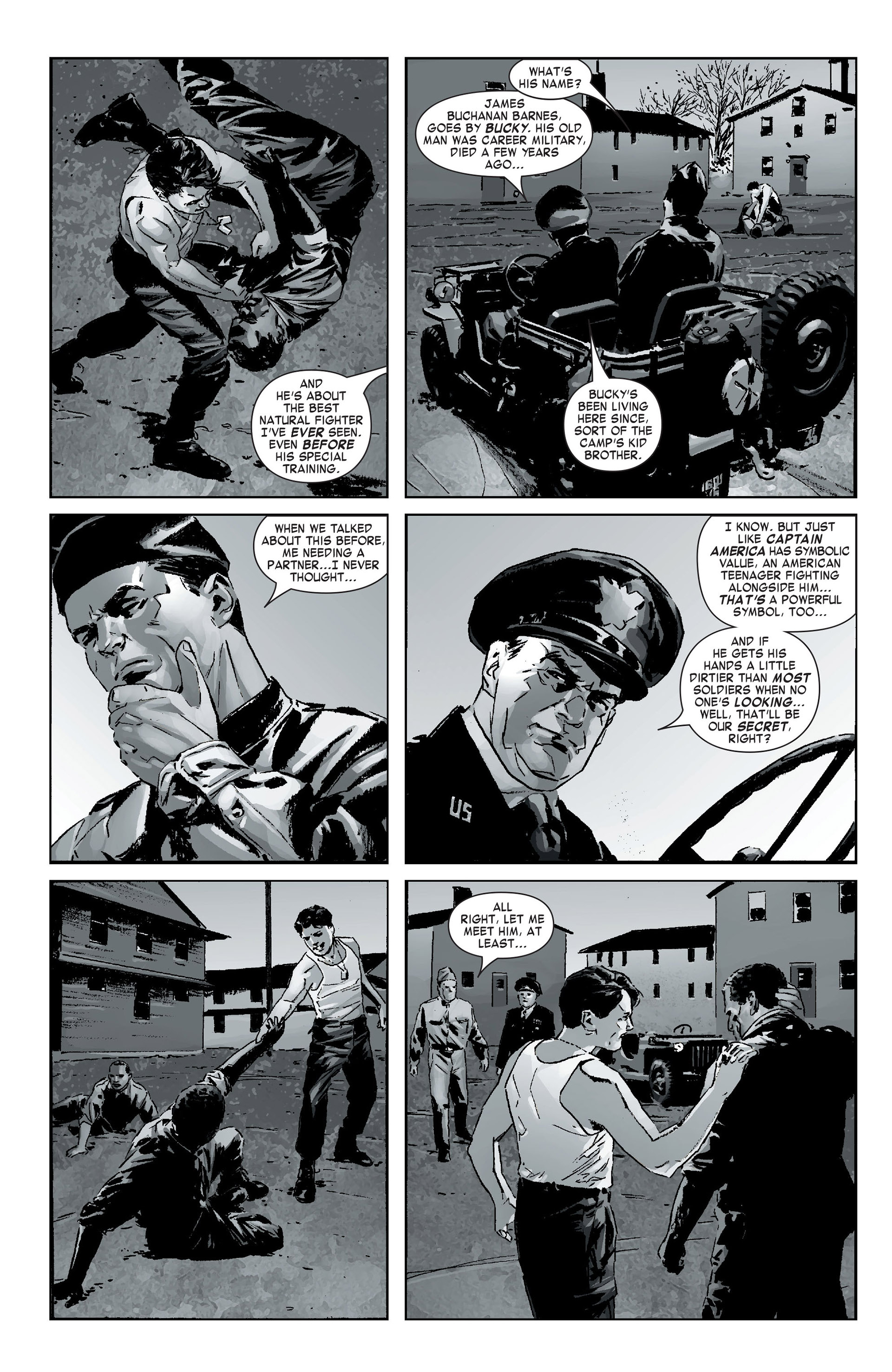 Captain America (2005) Issue #12 #12 - English 8