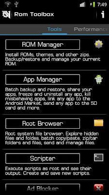 ROM Toolbox Pro v4.4.4 Nette Tek ve Full (Android)
