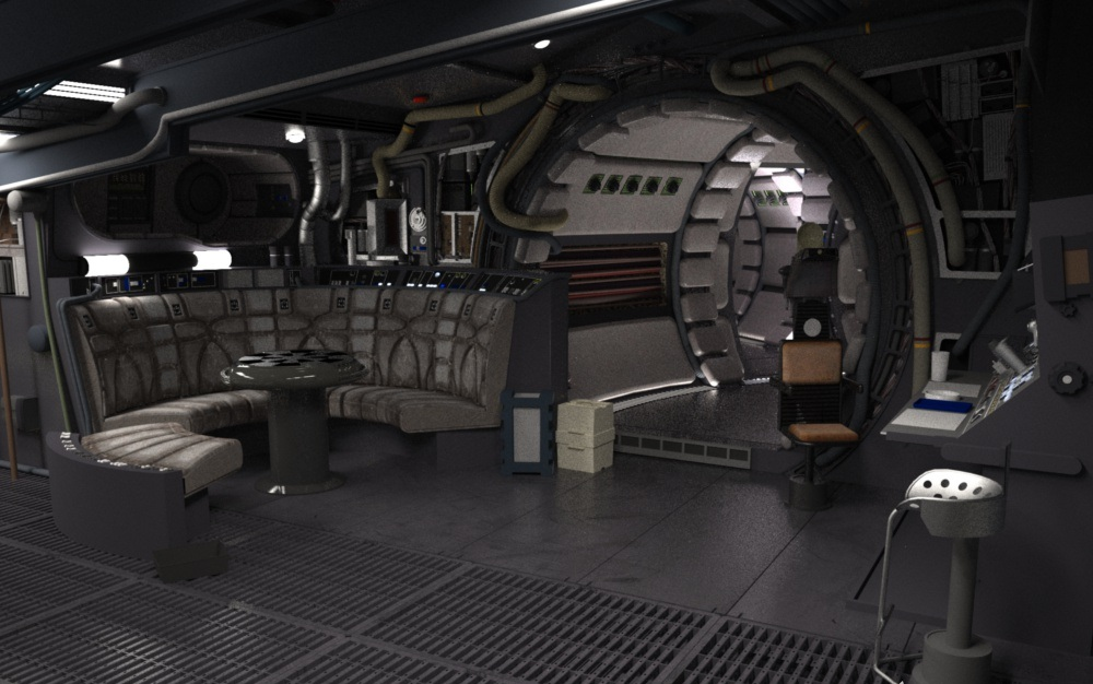 Millennium Falcon Interior Images Galleries With A Bite