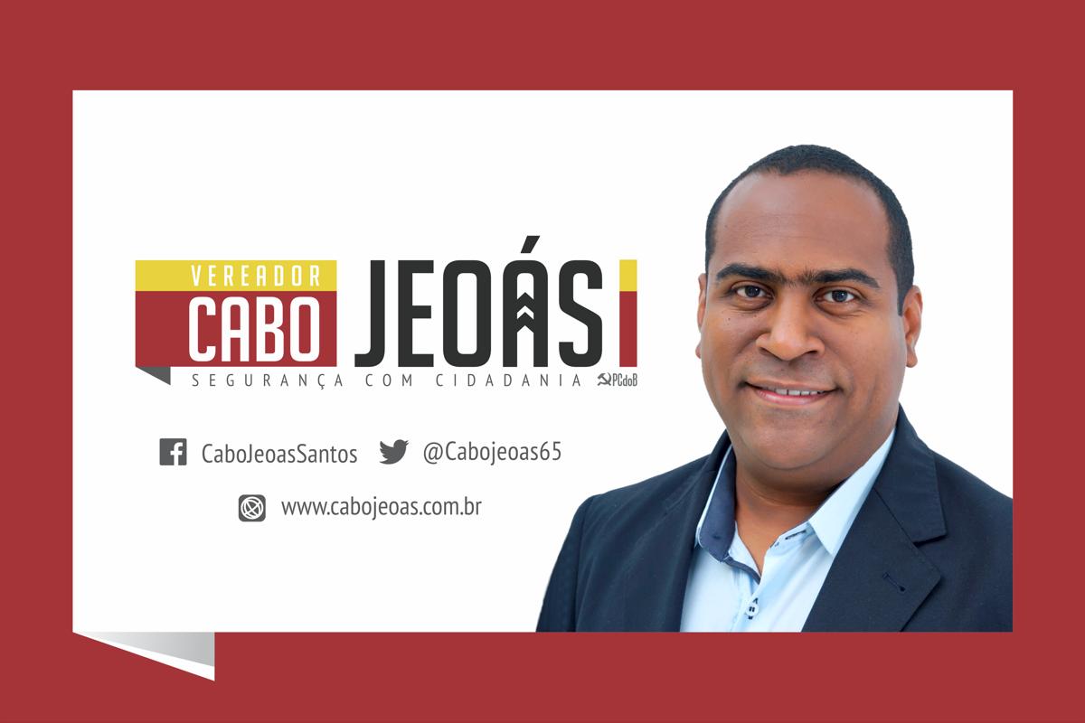 Vereador de Natal Cabo Jeoás, Segurança com Cidadania.