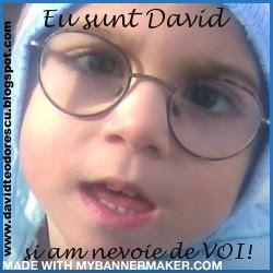 Campania pentru micutul David