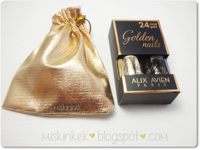 alix avien golden nails altın oje