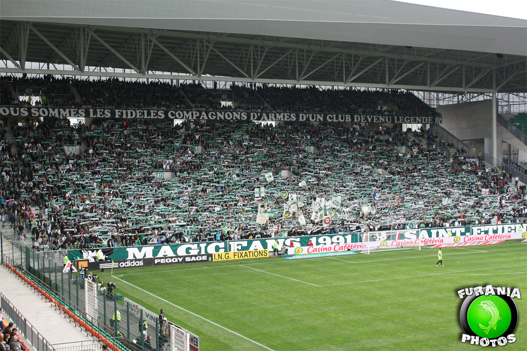 ultras on tour saint etienne reims. Black Bedroom Furniture Sets. Home Design Ideas