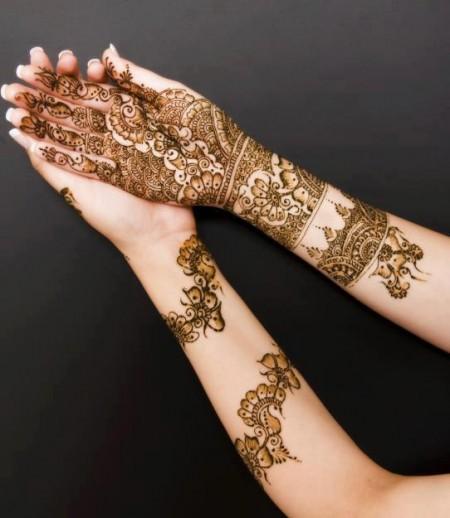 Leg Mehndi Hd Images : Beautiful latest simple arabic pakistani indian bridal
