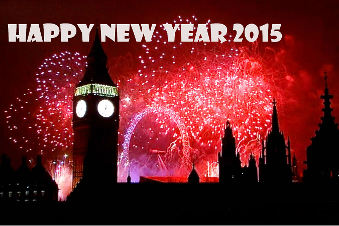 Latest Beautiful Happy New Year 2015 Backgrounds Images