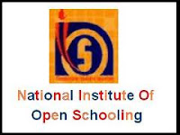 NIOS logo, NIOS Admit Card April 2013 10th 12th Class Exam