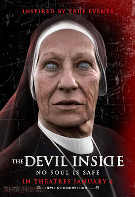 The Devil Inside 2012 póster