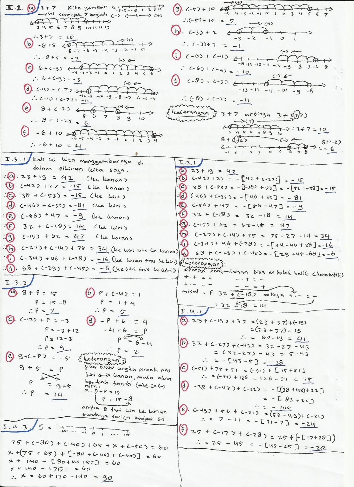Matematika Smp Kelas 7 2011 11