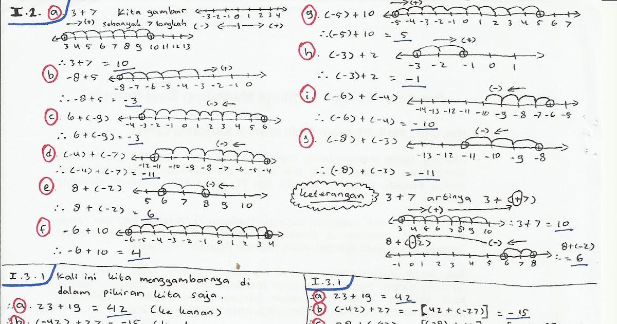 Matematika Smp Kelas 7 Soal Matematika 4 3