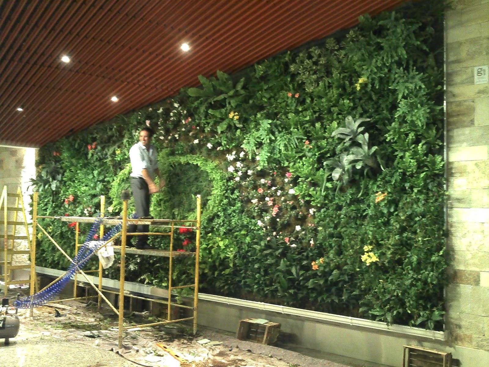 Jardin vertical en argentina mayo 2013 - Iluminacion para plantas ...
