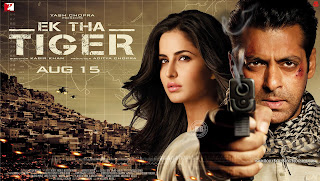 Ek Tha Tiger HD Wallpaper Starring Hot Katrina Kaif, Salman Khan
