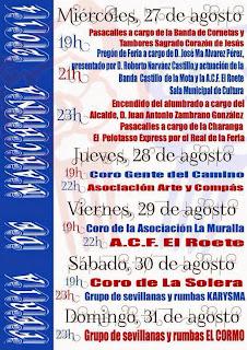 Marchena - Feria 2014 - Programa de Actos