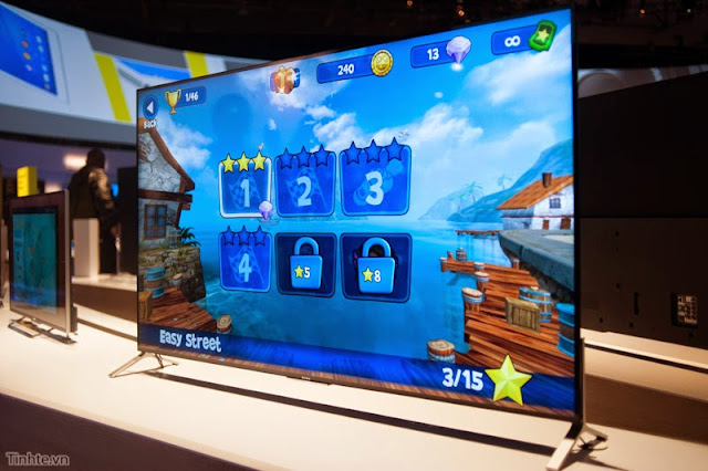"""Giới thiệu Tivi Sony 4k mới: siêu mỏng, chạy Andoid TV, 65"""" và 75"""""""