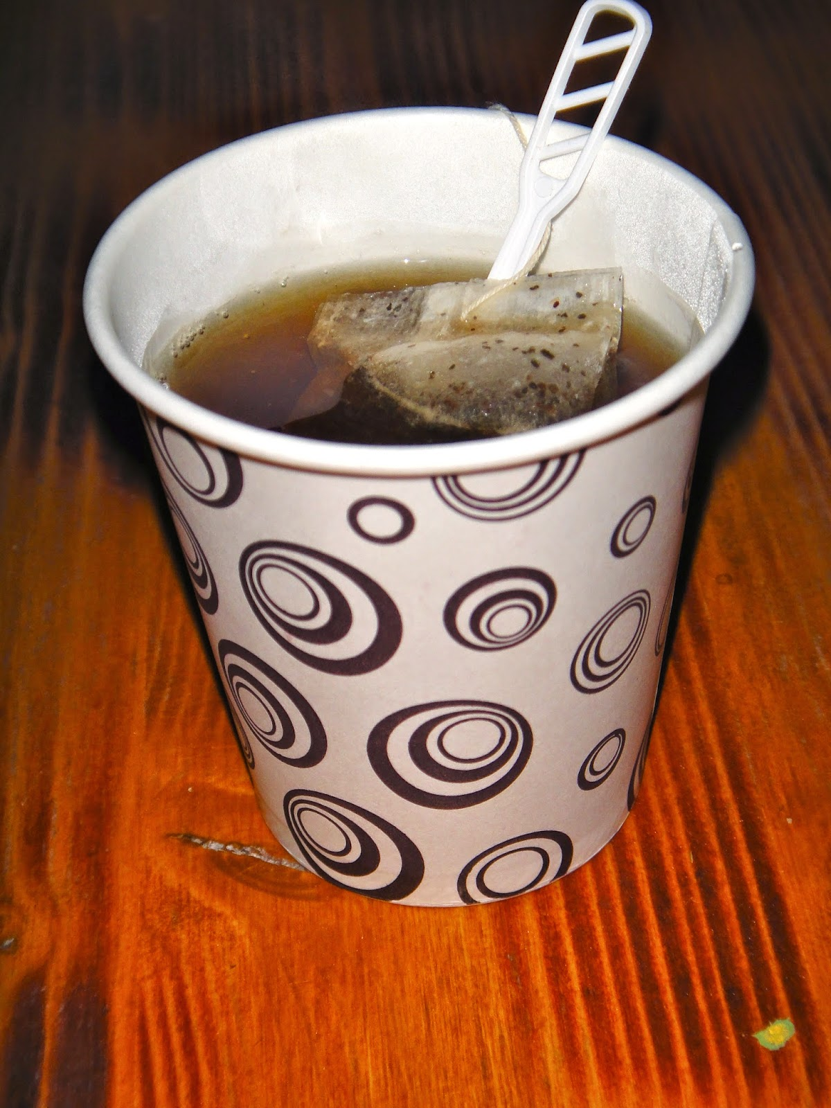 Hot tea on a cold Turkey morning