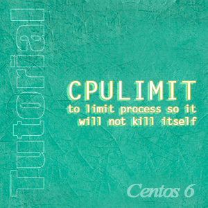 how to limit process on centos