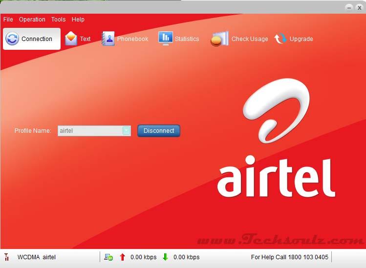 Airtel modem software download