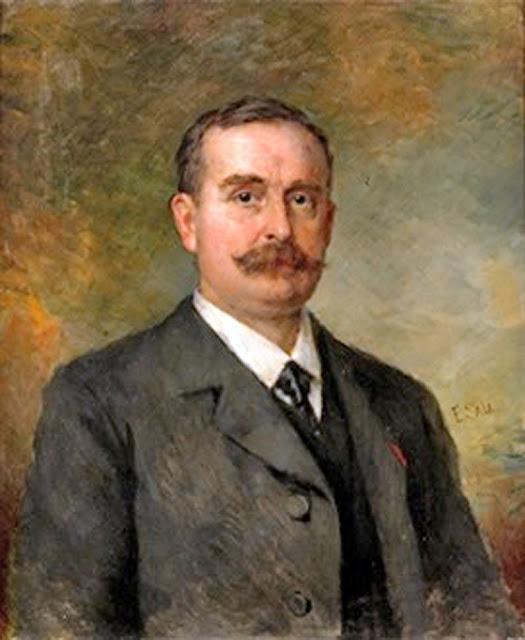 Retrato de Caballero, Emilio Sala Francés, Pintor español, pintores españoles