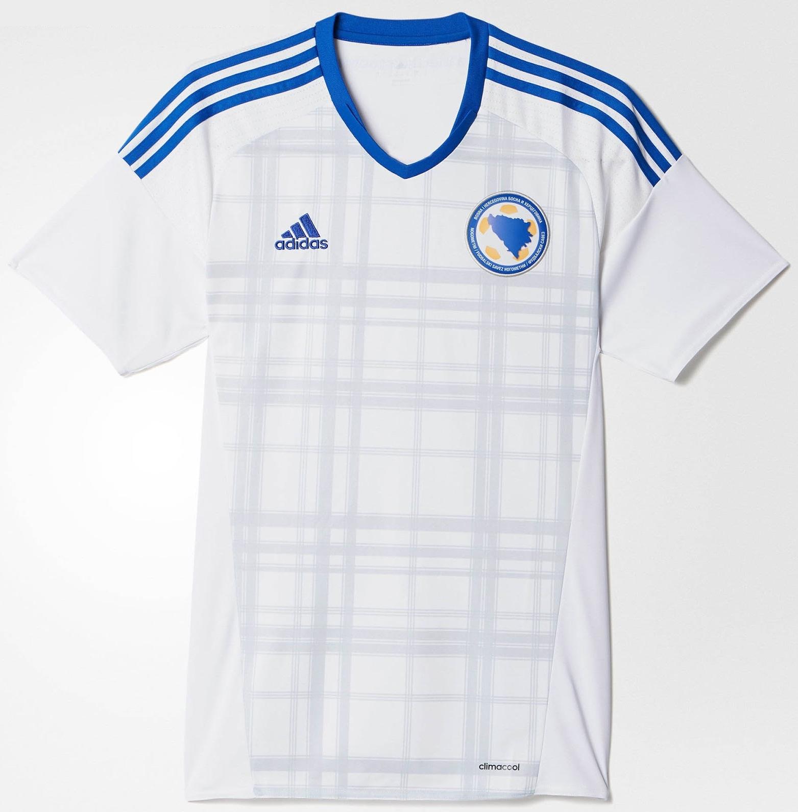Adidas lança nova camisa reserva da Bósnia e Herzegovina - Show de ... 9e77197522356